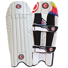 Hunts County Wicket Keeping Pads Aura