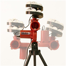Slider Cricket Bowling Machine (inc.13 Balls)
