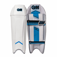 GM Cricket Wicket Keeping Pads 606 Junior
