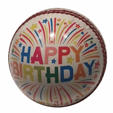 Gift Cricket Balls Happy Birthday