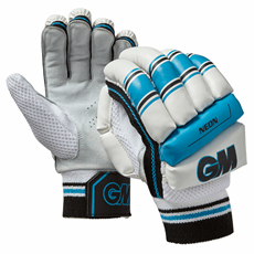 Gunn and Moore Cricket Batting Gloves Neon