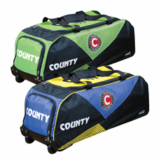 Hunts County Neo Cricket Bag Junior Wheelie