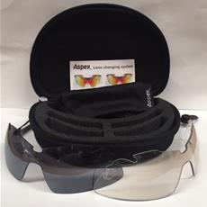 Aspex Sunglasses Spectrum with Spare Lens/Case
