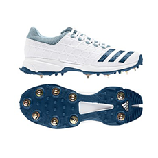 Adidas Cricket Shoes Mid-Vector Full Spike