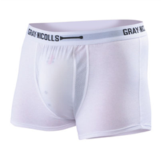 Gray Nicolls Jock Trunks with Abdo Pouch  White