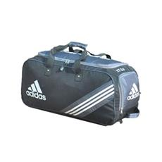 18a772fe11bb Adidas Cricket Bag Libro 1.0 Blue Wheelie - VSports Coventry